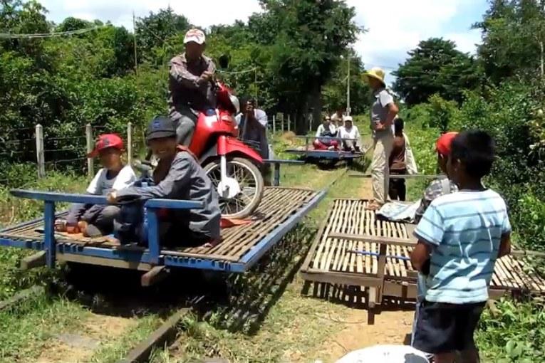 Bambusowy pociąg