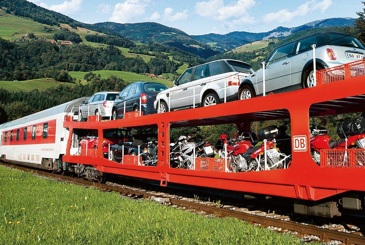samochodowy pociąg