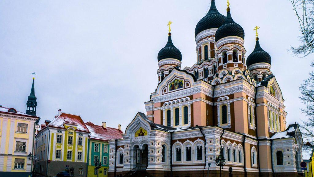 Estonia - cerkiew Aleksandra Newskiego