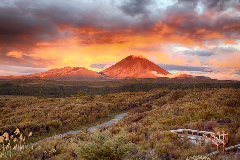 Góra Przeznaczenia - Park Narodowy Tongariro