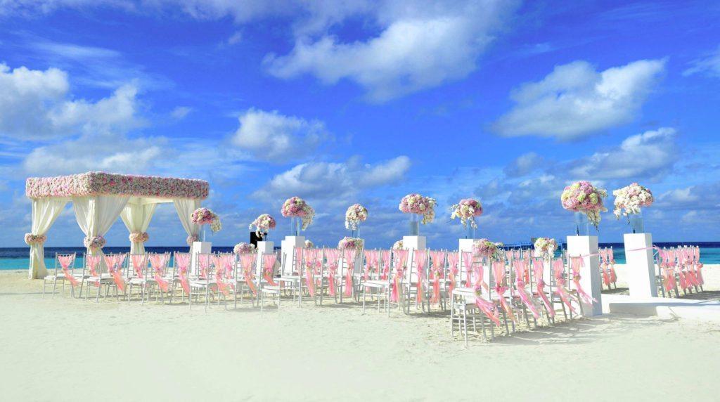 ślub za granicą - plaża