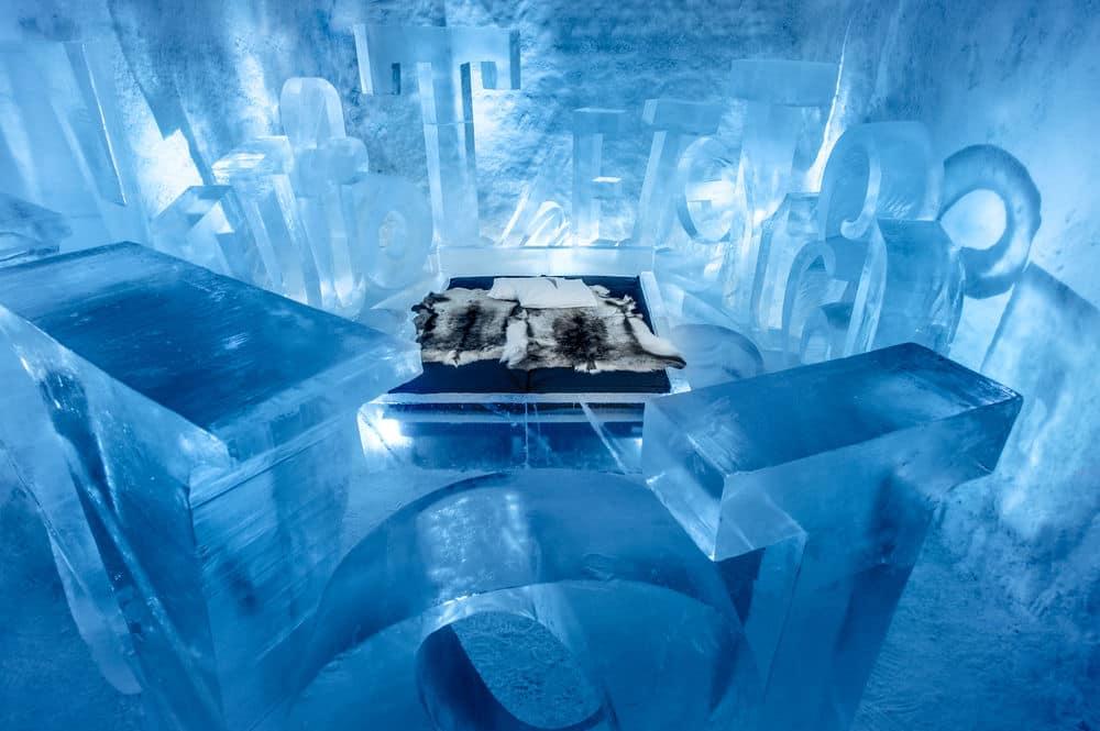 lodowy hotel w szwecji - ślub za granicą