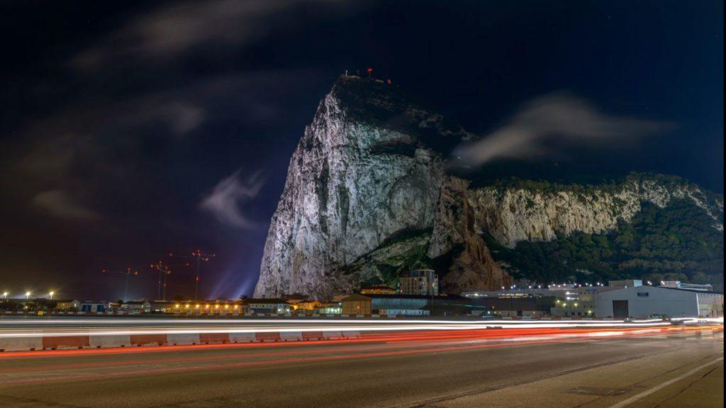 gibraltar - pas startowy