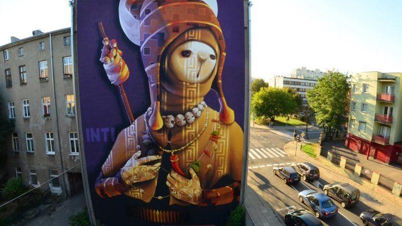 Murale - dzieła godne ulicy