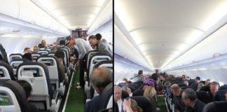 Kije, piłka i dziura w samolocie
