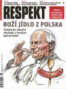 Papież z kiełbasą