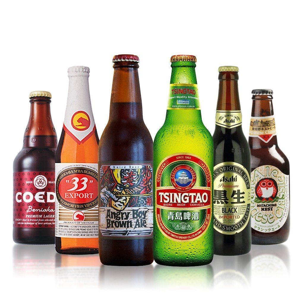 Azjatyckie piwa
