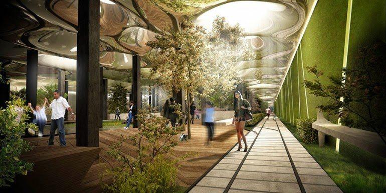 Podziemny park w Nowym Jorku