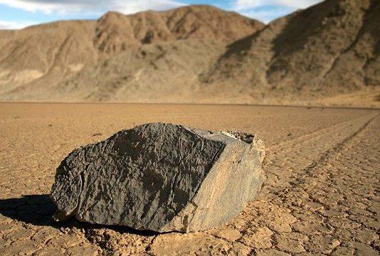 Wędrujące kamienie