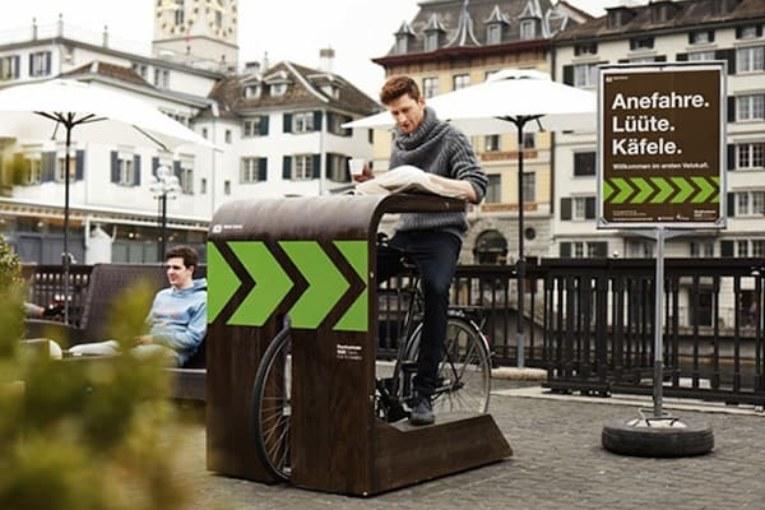 Bike Drive-in, czyli kawa na rowerze