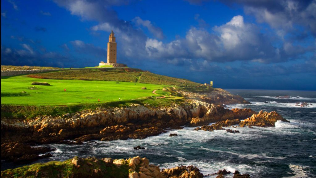 Latarnie morskie - Wieża Herkulesa