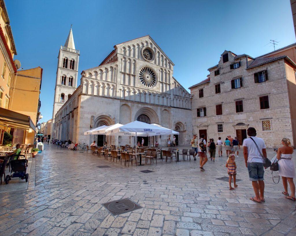 Zadar zabytki z czasów starożytnych
