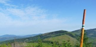 panorama widoków Beskidu Żywieckiego